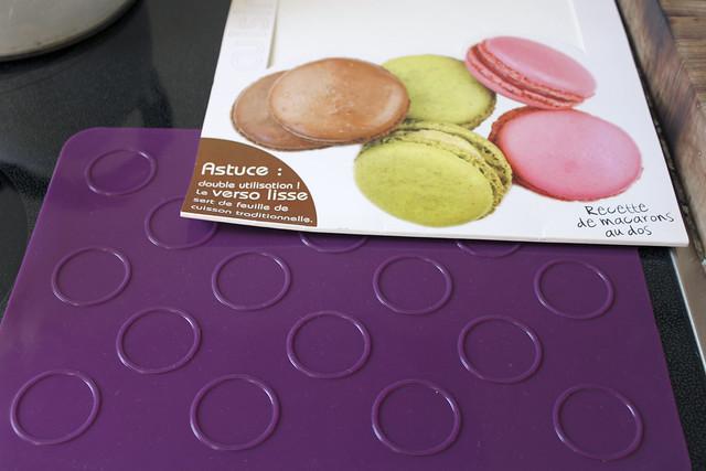 Silikonmatte für Macarons