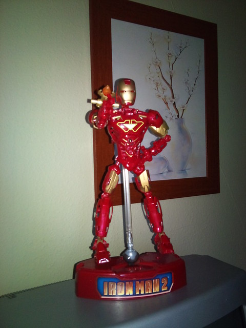 El Iron Man que se compro Ñoño