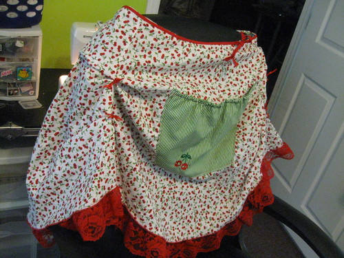 my cherrie apron