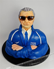Joe Paterno sculpture cake (Design Cakes) Tags: sculpture cake joe paterno