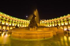 Piazza della Repubblica (F Fazal) Tags: longexposure italy rome building architecture night canon rebel lights zoom traveling ultrawide efs 1022mm urbanlandscape 550d t2i kissx4