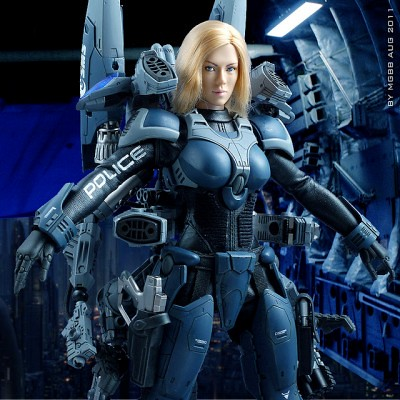 Custom ExoSkeleton 1/6 Figure by MGBB