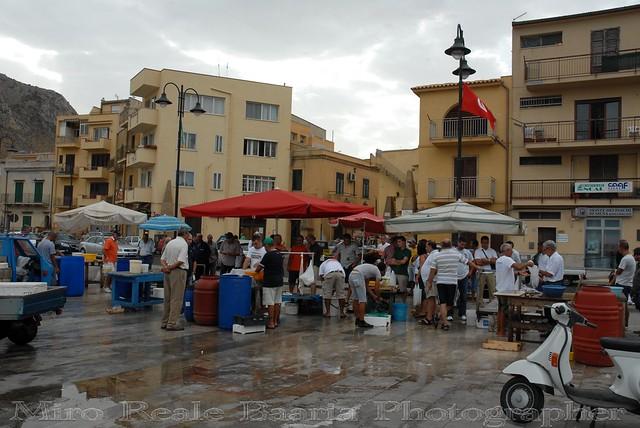 Mercato di Pesce Fresco Locale