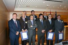 Ganadores de la certificación entre los que esta Carlos Totorika