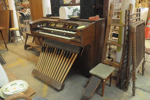 Organ at Community Forklift