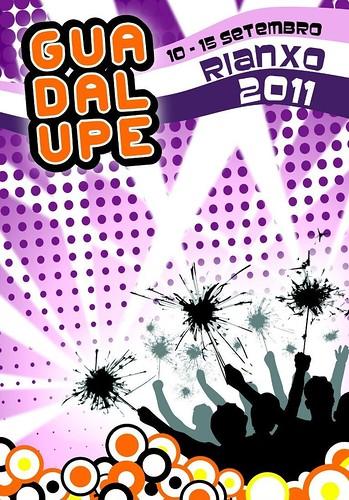 Rianxo 2011 - Festas da Guadalupe- cartel