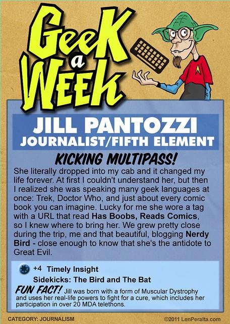 Geek A Week Season 2: Jill Pantozzi