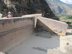 Stonework in Progress at Ollantaytambo