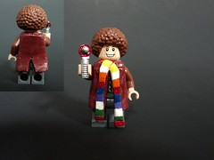 The Fourth Doctor (billbobful) Tags: tom four baker lego who dr 4 4th doctor fourth