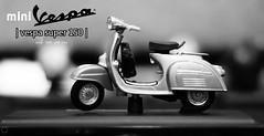 vespa super 150 (aminaleman) Tags: white black model vespa mini super 150