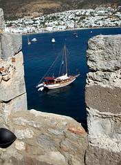 IMG_0478 (Greenhorn 2000) Tags: turkey aegean shipwreck fortress herodotus bodrum aegeansea halicarnassus bodrumcastle