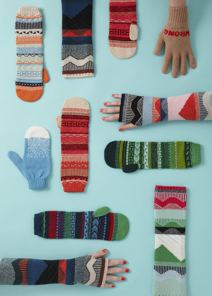 Mittens & Gloves by Donna Wilson