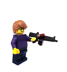 "Pew pew pew! (""Squeezy"") Tags: lego shell prototype shotgun sigfig aa12 brickarms"