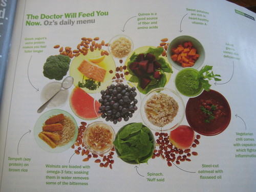 doctor oz will feed you