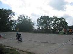 IMG_7530 (DJ Saint) Tags: detroit mopeds scooters velodrome gokarts mountainbikes pitbikes minibikes fixedgearbikes doraisvelodrome thunderdrome2011 gearedroadbikes themowergang