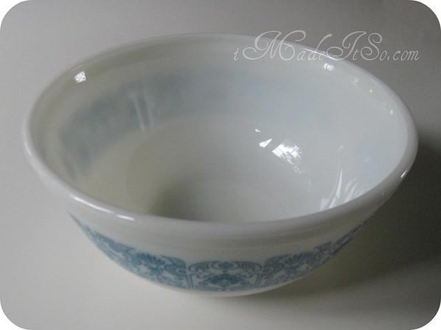 horizon blue bowl 2.5 qt