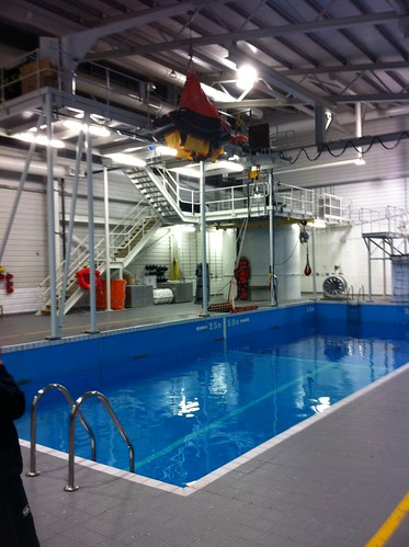 Survival training pool - National Maritime College , Ringaskiddy, Cork by despod