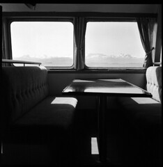 Stereo Vision, Iceland 2011 (Kal Khogali Photography) Tags: mountain boat iceland hp view 5 vision bronica medium format sq ilford ai on 2011 sereo a of
