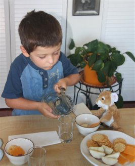 Table Manners Role Play  (Photo from Counting Coconuts)