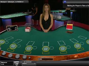Live Multi-Player Blackjack