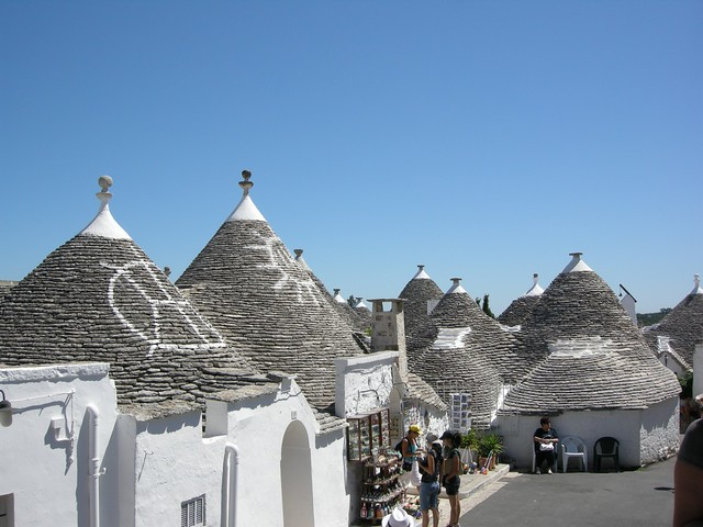 A view of Alberobello