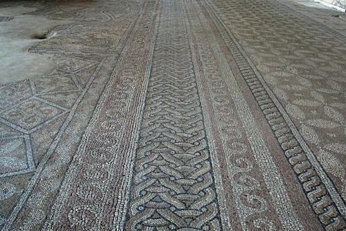 [Edificiul Roman cu mozaic din Constanţa - detaliu]