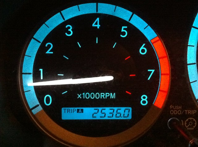 End of Trip Odometer