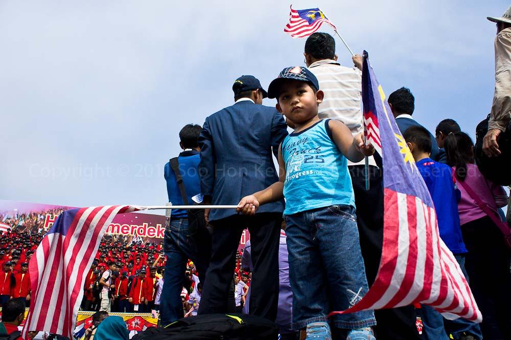 Saya Anak Malaysia @ Malaysia Day Celebration, Dataran Merdeka, KL, Malaysia