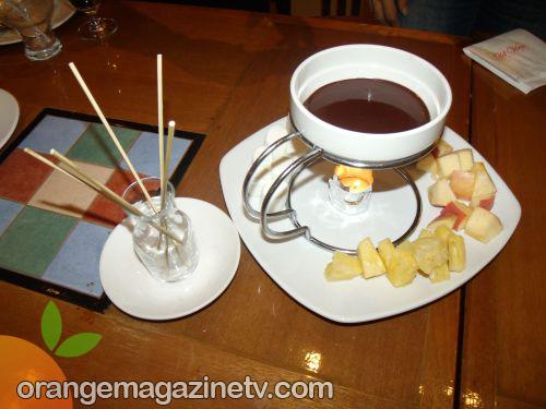 Old Vine Grille - Belgian Chocolate Fondue