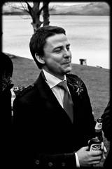 Gary and Louise's Wedding- Mr P (MMcQuade) Tags: wedding friends blackandwhite lochlomand