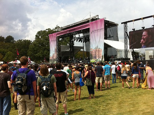 Wild Beasts on the Honda Stage