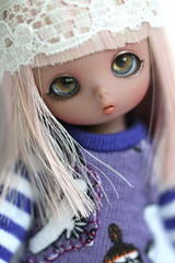 Squirrel (Aya_27) Tags: cute dark bigeyes squirrel doll sweet tan shy bjd lovely dollfie moomins fairyland tanned dollie piki puki pukipuki chocopuki icantdancesweater metalpinkwig