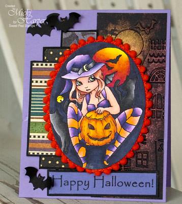Tera-Bidlespacher-Plate-155-Happy-Halloween