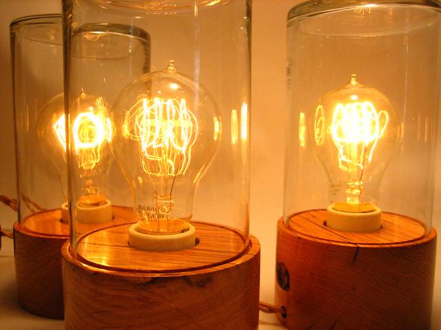 Bourbon Jar Lamps