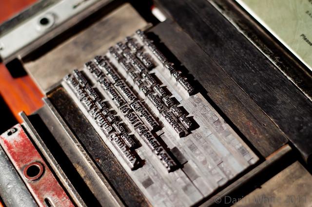 Matthew Reynolds printing presses 138