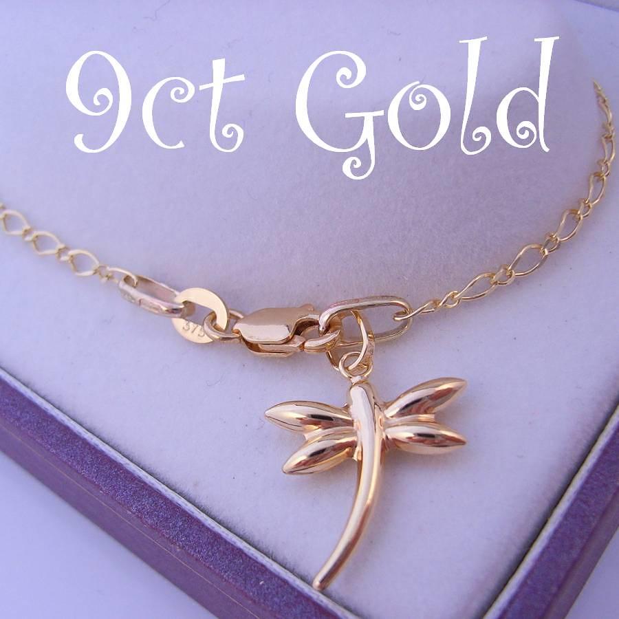 Dragonfly Gold Bracelet
