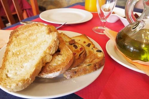 Desayuno en Iturritxo Landetxea