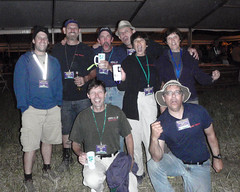 103 The Trolls - Front View (saschmitz_earthlink_net) Tags: party colorado campground glenwoodsprings 2011 cavetrolls billroberts nationalspeleologicalsociety nssconvention scottschmitz danielveelik frankmcdonough shawnfryer petermudpuppymichaud bettyfarfan phylisboneau