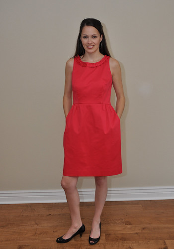 Madrid dress Jenn front full