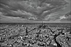 Paris, France - HDR (Stuart-Saunders) Tags: sky paris france tower high tour view metro eiffel land scape hdr