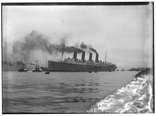 Sea Trials - Mauretania