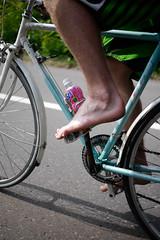 Cycle touring near Niseko, Hokkaido, Japan