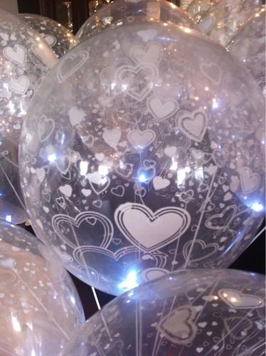Heliumballonnen Transparant met LED verlichting