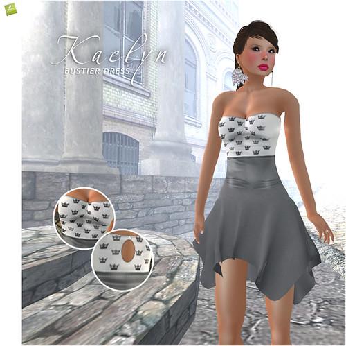 BOUNCE KAELYN Bustier Dress