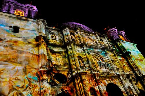 Espectáculo Multimedia Catedral Oaxaca (24)