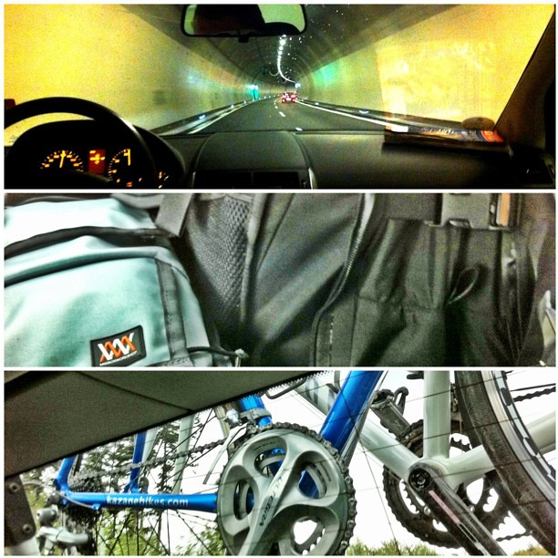 Common themes. Tunnels, Mission Workshop & Shimano groups
