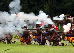 Bavarian Fire (day_sargent) Tags: history scotland battle battlefield reenactment selkirk livinghistory warfare scottishborders sealedknot philiphaugh