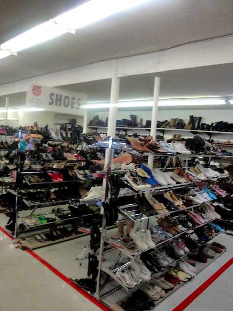 Salvation Army Shoes