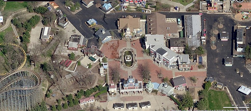 Geauga Lake - Aerial view from Bing Maps - a photo on Flickriver
