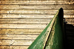 """Canadian Summer"" - EXPLORED Aug. 15 (Grant is a Grant) Tags: ocean wood summer canada green coast boat nikon paint novascotia ns canadian atlantic canoe wear explore faded shore weathered coastline summertime aged decking maritimes lunenburg d90 explored"